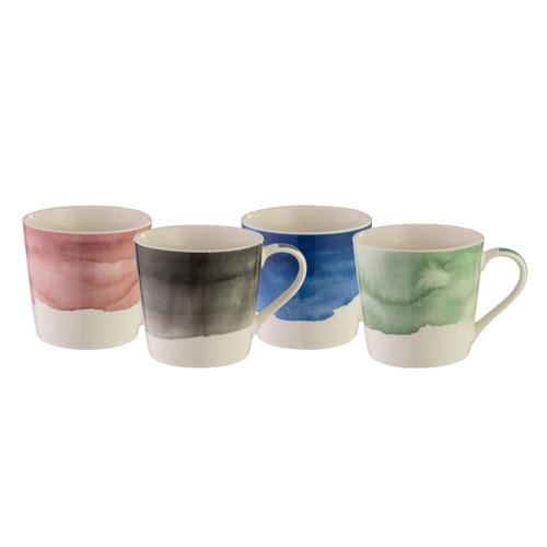 Mod Mug Set of 4 - Splash