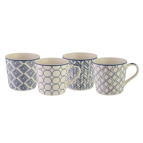 Mod Mug Set of 4 - Contempo