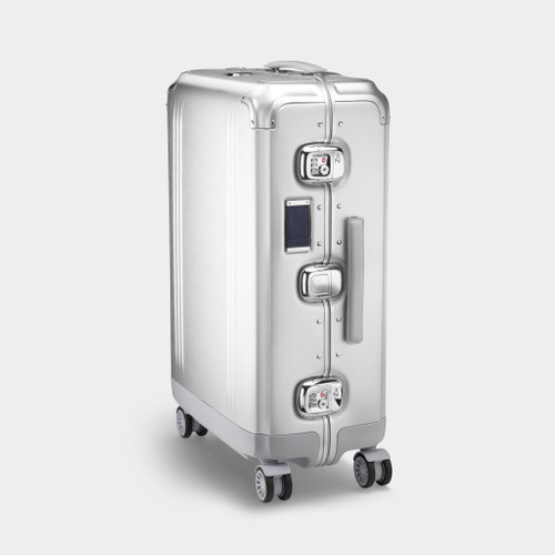 Pursuit - Aluminium Medium Travel Case (Silver)