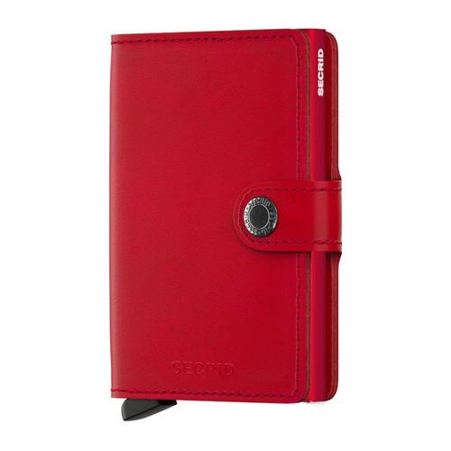 RFID Safe Miniwallet - Red-Red