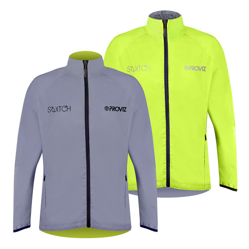 Proviz Switch (Female) - high visibility, reversible cycling jacket
