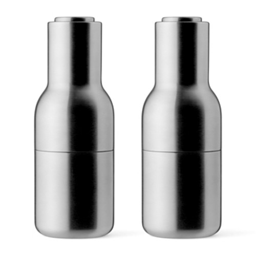 New Norm Bottle Grinder set - Brushed Steel