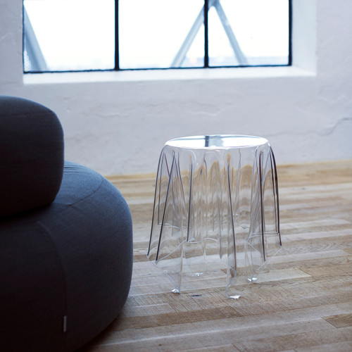 Illusion Clear Side Table