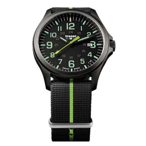 P67 Officer Pro GunMetal Black/Lime