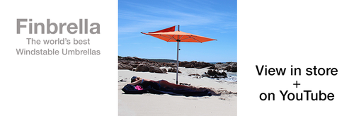 Finbrella - The World's Best Wind Stable Umbrella