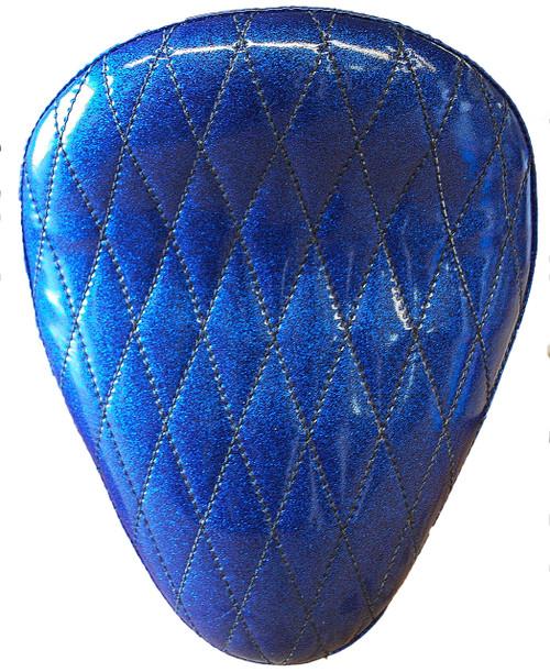 "13"" HARLEY-DAVIDSON BLUE METAL FLAKE DIAMOND TUK BY LA ROSA DESIGN"