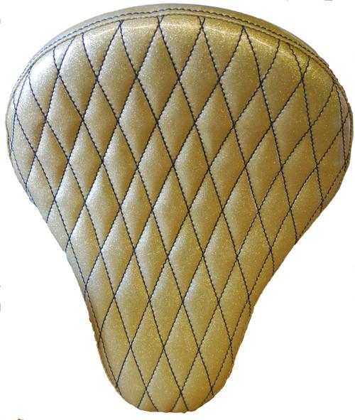 "16"" HARLEY-DAVIDSON GOLD METAL FLAKE DIAMOND TUK BY LA ROSA DESIGN"