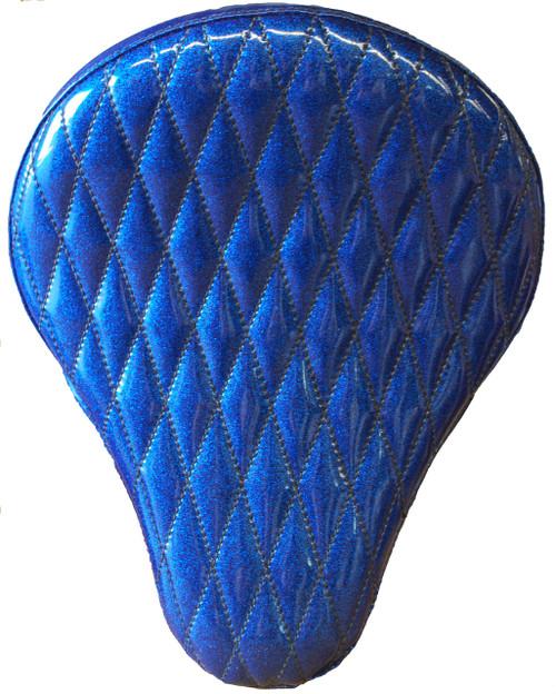 "16"" HARLEY-DAVIDSON BLUE METAL FLAKE DIAMOND TUK BY LA ROSA DESIGN"