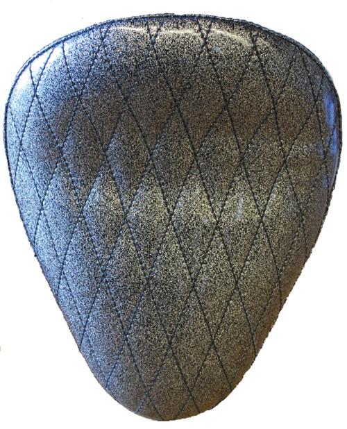 "13"" HARLEY-DAVIDSON BLACK METAL FLAKE DIAMOND TUK BY LA ROSA DESIGN"