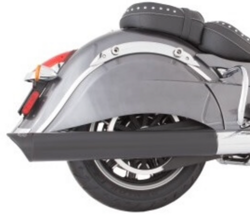 TAB PERFORMANCE FITS INDIAN CHIEF BLACK B.A.M. STICKS  EXHAUST PIPES- SOFT BAGS