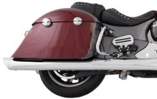 TAB PERFORMANCE FITS INDIAN CHIEFTAIN BAGGER CHROME B.A.M. STICKS  EXHAUST PIPES