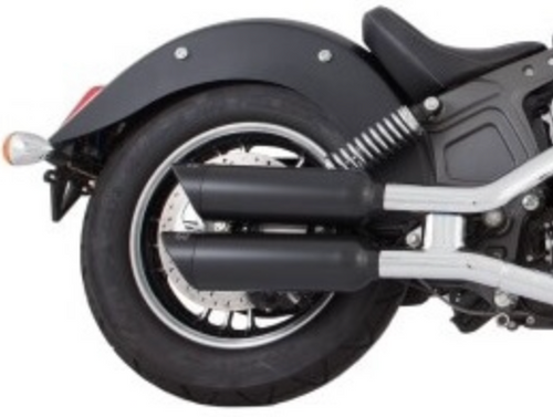 TAB PERFORMANCE FITS INDIAN SCOUT SHORT BLACK TIP COMPATIBLE EXHAUST PIPES