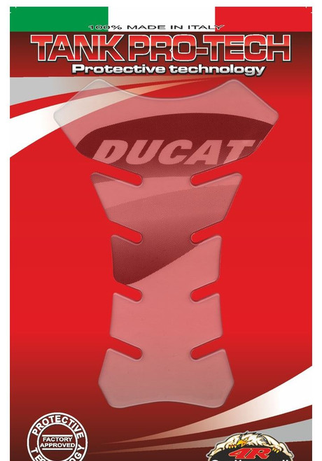 DUCATI TANK PAD PROTECTOR CLEAR MADE IN ITALY