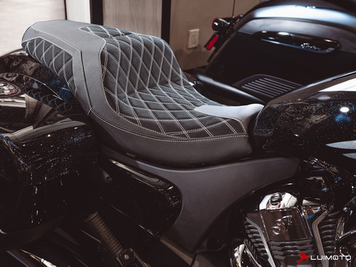 INDIAN CHALLENGER 2020-2021DIAMOND II SEAT COVERS  BY LUIMOTO