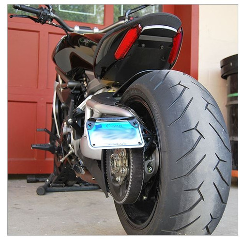 Ducati Diavel 1260 Side Mount License Plate (2 Position) NEW RAGE CYCLES