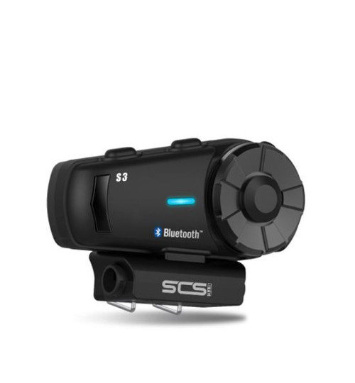 SCS SONY S-3 BLUETOOTH 4.1 INTERCOM FOR 4-6 RIDERS 1000M IOS AND ANDROID