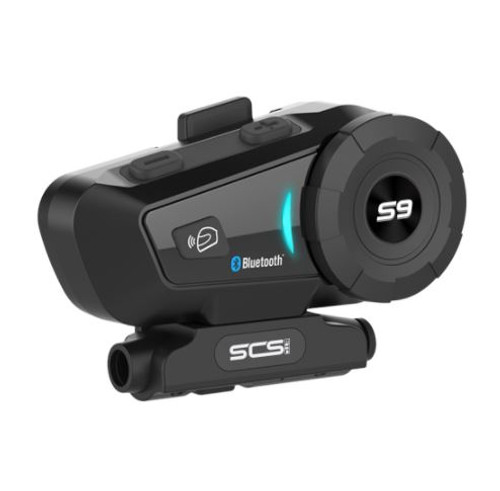 SCS SONY S-9 BLUETOOTH 4.1 INTERCOM ANDROID AND IOS COMPATIBLE FOR 4 RIDERS