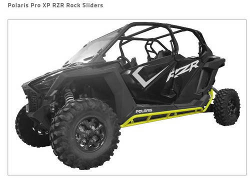 Tab Performance Rock Sliders For Polaris Pro XP RZR