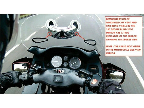 RIDERSCAN SAFETY MIRROR FOR NAKED UNIVERSAL MOTORCYCLES