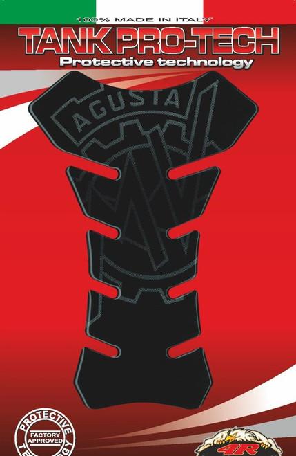 MV AGUSTA TANK PAD PROTECTOR BLACK MADE IN ITALY FITS MV AGUSTA
