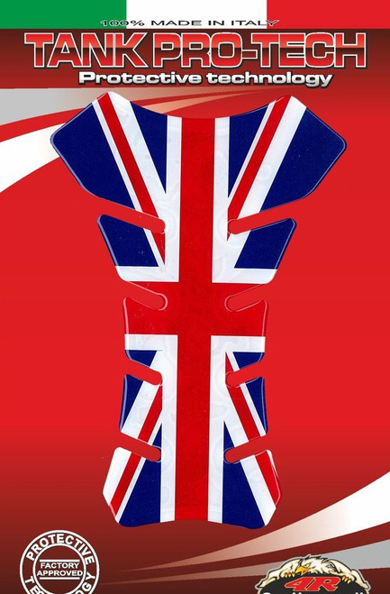 UK UNION JACK TANK PAD PROTECTOR  UNIVERSAL FIT MADE IN ITALY