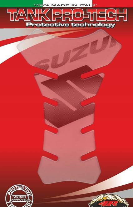 SUZUKI TANK PAD PROTECTOR CLEAR MADE IN ITALY FITS SUZUKI