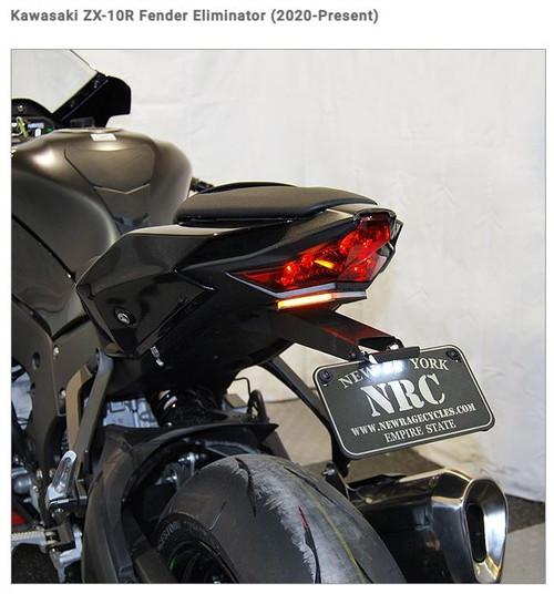 NRC NEW RAGE CYCLES FITS Kawasaki ZX-10R Fender Eliminator (2020-Present)