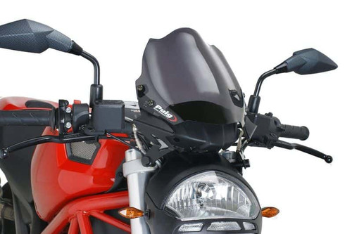 DUCATI MONSTER 696 2008- 2014 WINDSHIELD NEW GENERATION SPORT BY PUIG
