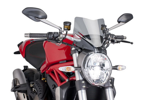 DUCATI MONSTER 797 2017- 2020 WINDSHIELD NEW GENERATION SPORT BY PUIG