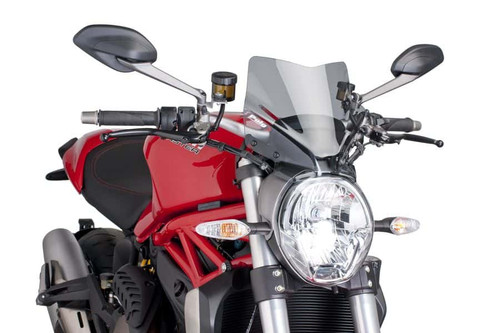 DUCATI MONSTER 821 2014- 2020 WINDSHIELD NEW GENERATION SPORT BY PUIG