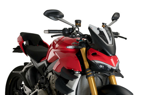 DUCATI STREETFIGHTER V4S 2020-2021 WINDSHIELD NEW GENERATION SPORT BY PUIG