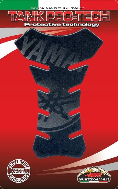 YAMAHA TANK PAD PROTECTOR DARK MADE IN ITALY FITS YAMAHA