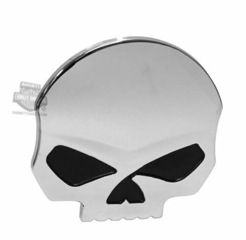 HARLEY DAVIDSON  WILLIE G SKULL EMBLEM 3D RAISED