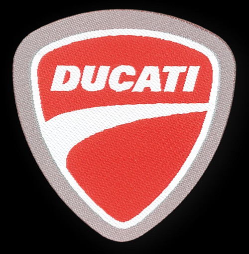 DUCATI EMBROIDERY PATCH CLOTH MADE IN ITALY