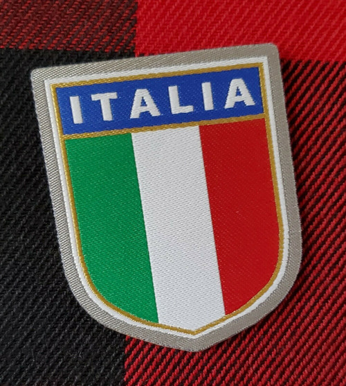 ITALIA ITALY EMBROIDERY PATCH CLOTH MADE IN ITALY