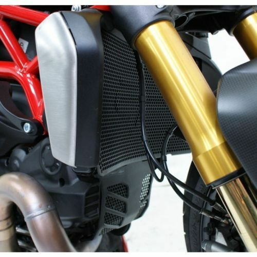 DUCATI MONSTER 1200 R 2016-2019 RADIATOR OIL & ENGINE GUARD SET EVOTECH PERFORMANCE