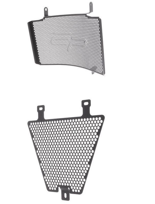 DUCATI 848 UPPER AND LOWER RADIATOR GUARD 2007-2013 EVOTECH PERFORMANCE