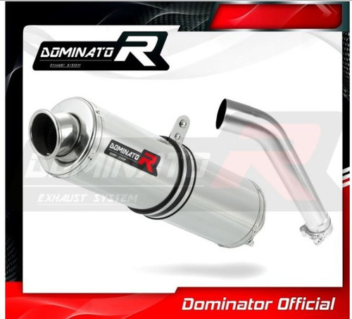 BMW 750GS  2018-2020 SLIP ON EXHAUST MUFFLER DOMINATOR ROUND
