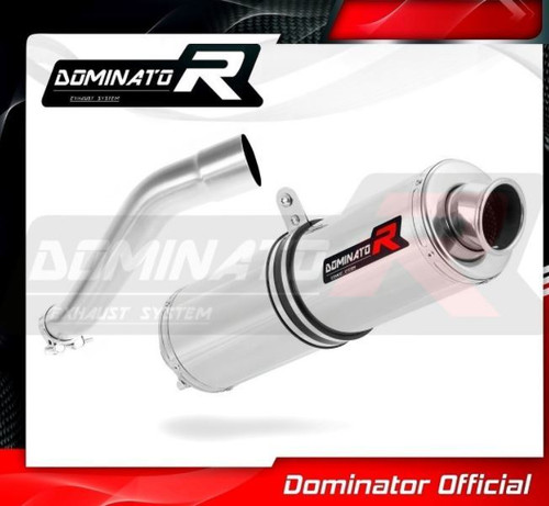 BMW F650 GS 2000-2007 SLIP ON EXHAUST MUFFLER DOMINATOR ROUND
