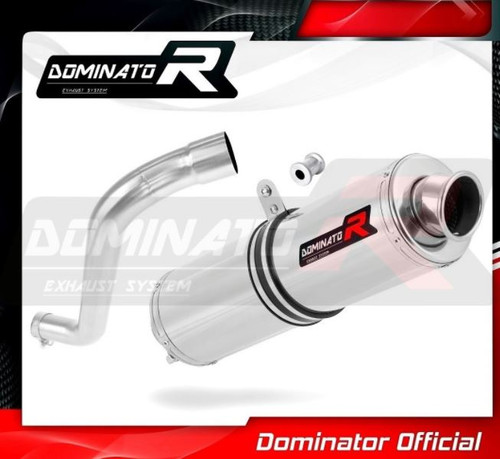 BMW F650 FUNDURO SLIP ON EXHAUST MUFFLER DOMINATOR ROUND