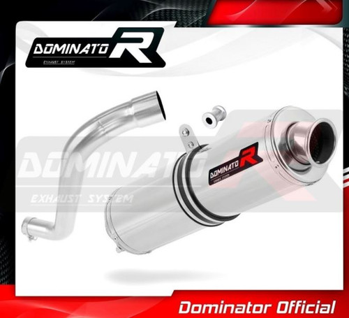 BMW F650ST SLIP ON EXHAUST MUFFLER DOMINATOR ROUND