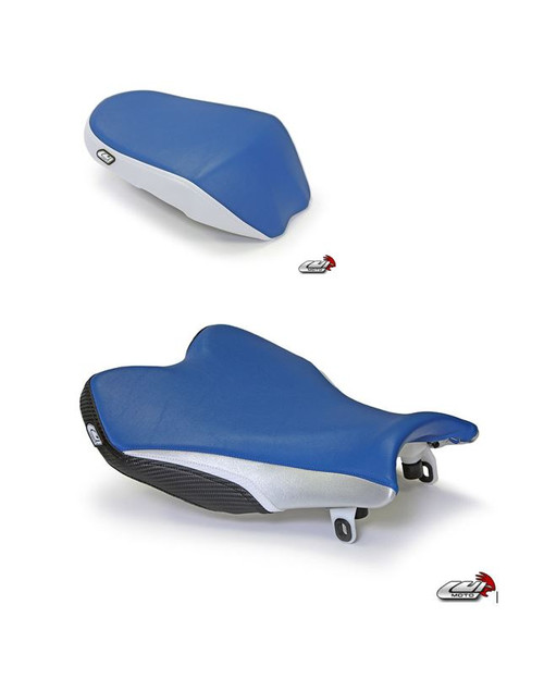 SUZUKI GSX-R 1000 2009-2016 SPORT RIDER AND PASSENGER SEAT COVERS BY LUIMOTO