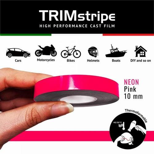 PINK NEON AUTOMOTIVE MOTORCYCLE 10mm TRIM PIN TAPE DETAIL PINSTRIPE ADHESIVE VINYL