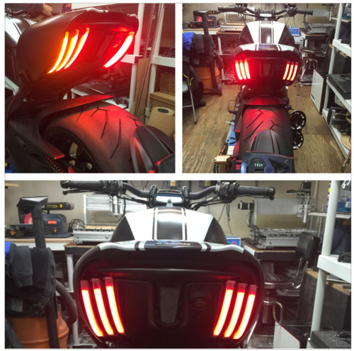 Ducati Diavel Rear Turn Signals  NEW RAGE CYCLES