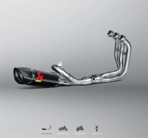 YAMAHA MT-09/FZ-09 2014-2021 Racing Line (Carbon) Exhaust System Akrapovic  S-Y9R2-AFC