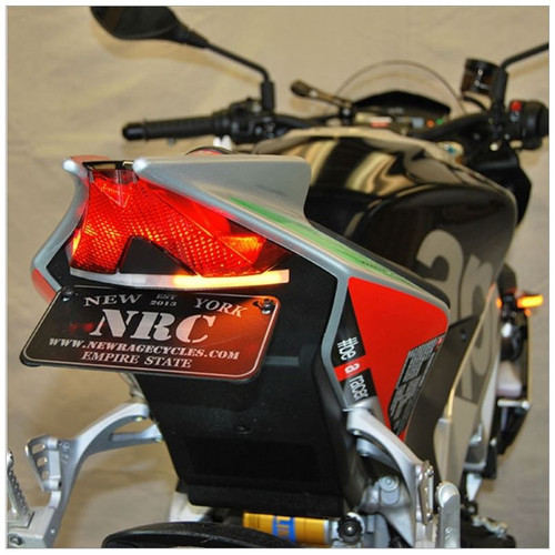 APRILIA RSV4 FENDER ELIMINATOR TAIL TIDY BY NEW RAGE CYCLES