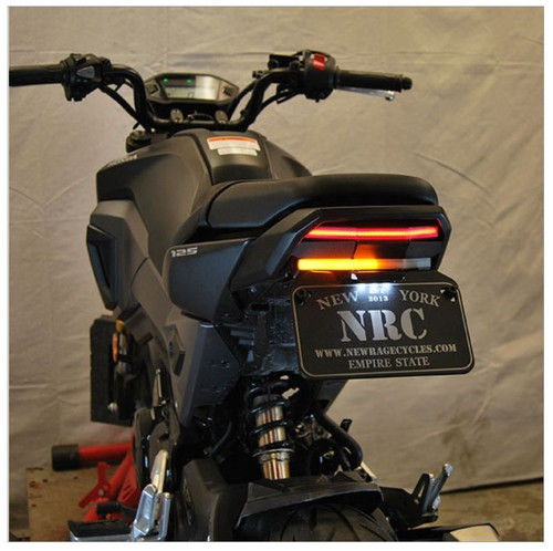 Honda Grom Fender Eliminator Tail Tidy by New Rage Cycles