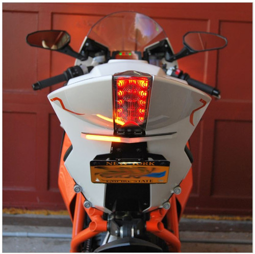 KTM RC8 Fender Eliminator Tail Tidy by New Rage Cycles