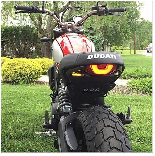 NEW RAGE CYCLES Ducati Scrambler Classic/Icon/Full Throttle/Urban Enduro Fender Eliminator Kit