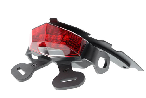 Suzuki Gladius 650   Fender Eliminator Tail Tidy 2009 - 2016 (Red Rear Light) Evotech Performance